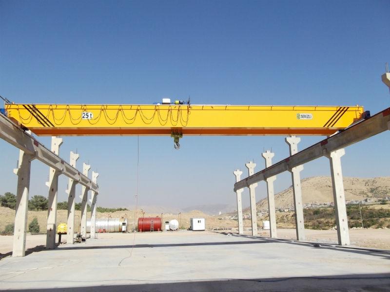 Overhead Crane, Double Single Girder Overhead Crane Electric Cranes